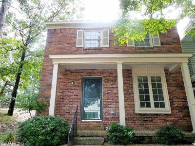 Little Rock Condo/Townhouse Back On Market: 34 Kingsbridge Way Drive