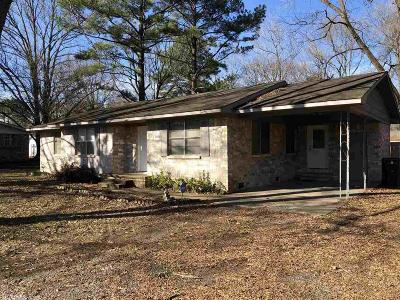 Bald Knob Single Family Home Take Backups: 1271 Hwy 258