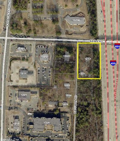 Little Rock Commercial For Sale: 1217 & 1221 Kaufman Road