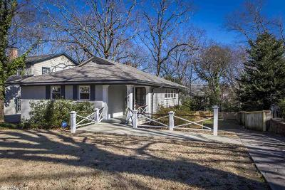 Single Family Home For Sale: 2701 N Fillmore Street