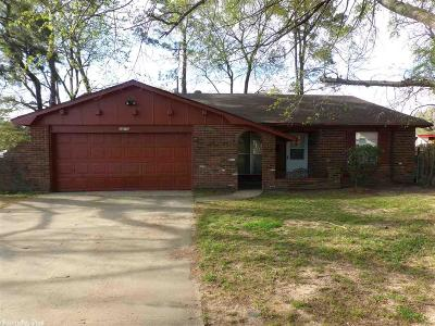Pine Bluff Single Family Home For Sale: 2812 Colonial