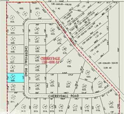 Residential Lots & Land For Sale: 4221 Cherrydale