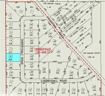 Residential Lots & Land For Sale: 4217 Cherrydale