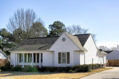 Searcy Single Family Home Under Contract: 13 White Oak Circle
