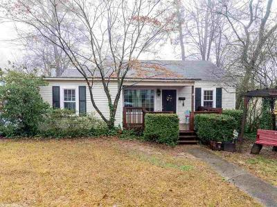 Little Rock Single Family Home For Sale: 6613 Westover Drive