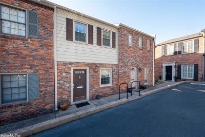 Little Rock Condo/Townhouse For Sale: 1824 N Hughes Street #9