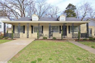 Little Rock Single Family Home New Listing: 613 N Pierce Street