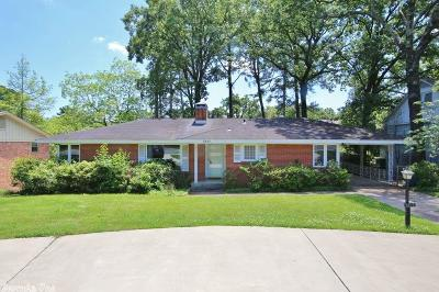 Little Rock Single Family Home New Listing: 6517 Cantrell Road