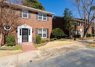 Little Rock Condo/Townhouse For Sale: 118 Cambridge Place Drive