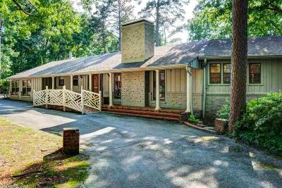 Little Rock Single Family Home For Sale: 2 River Ridge Road