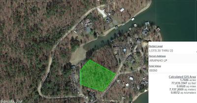 Garland County Residential Lots & Land For Sale: 123 Arapaho Lp