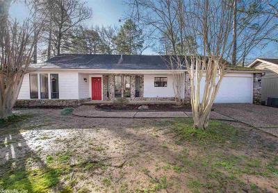 Maumelle Single Family Home Price Change: 20 Cinderwood Cove