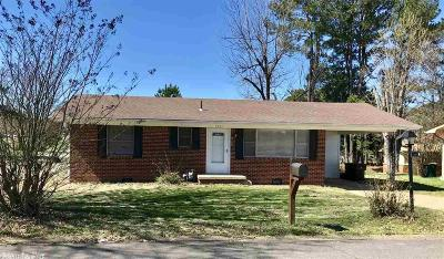 Morrilton Single Family Home For Sale: 1001 N Chestnut Street