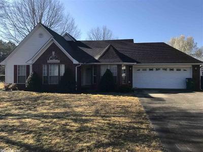 Beebe Single Family Home New Listing: 1801 Applewood Cove