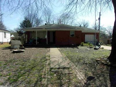 White County Single Family Home New Listing: 100 N Olive