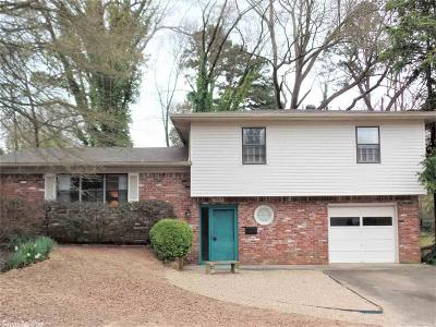Little Rock Single Family Home New Listing: 7609 Leawood Blvd