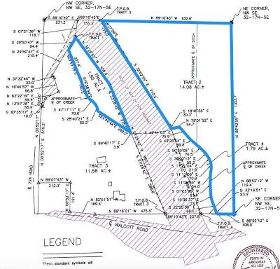 Paragould Residential Lots & Land For Sale: Pineknot Road #WALCOTT