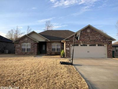 Russellville Single Family Home Price Change: 294 Cottonwood