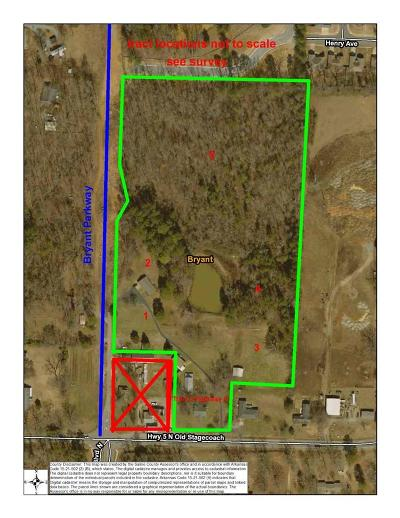 Bryant Residential Lots & Land For Sale: Tract 5 Bryant Parkway