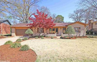 North Little Rock Single Family Home Price Change: 1613 Northline Drive