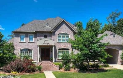 Little Rock Single Family Home Price Change: 104 Deauville Drive