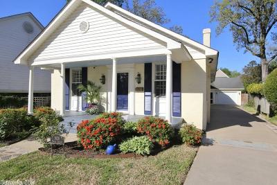 Little Rock Single Family Home Price Change: 1620 N Jackson Street