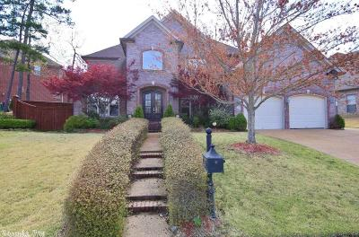 Little Rock Single Family Home For Sale: 38 Epernay Circle