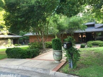 Pine Bluff Single Family Home For Sale: 5 Hillcroft Street