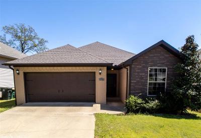 Little Rock Single Family Home Take Backups: 615 Gamble Road