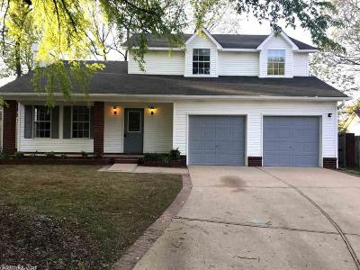Bryant Single Family Home For Sale: 1813 Briarwood Cove