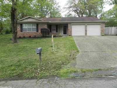 North Little Rock Single Family Home New Listing: 1804 Okmulgee Court