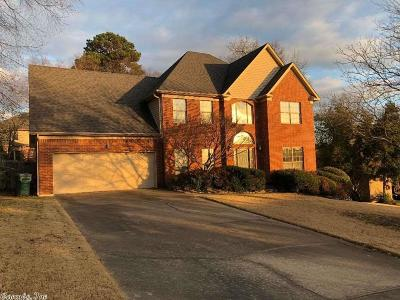 Little Rock Single Family Home New Listing: 9 Black Bear Court