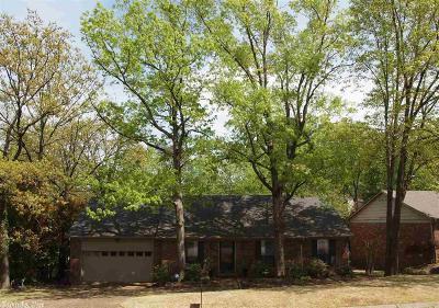 Little Rock Single Family Home Take Backups: 1609 Stonehenge Place