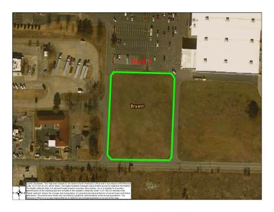 Bryant, Alexander Residential Lots & Land New Listing: Tract 1 Lowes Outparcels At Dell Drive
