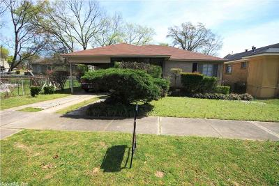 Little Rock Single Family Home New Listing: 2205 S Ringo Street