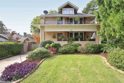 Little Rock Single Family Home New Listing: 328 Charles Street