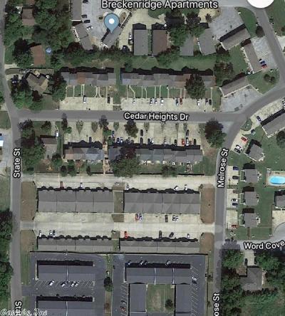 Jonesboro Multi Family Home Under Contract: 1803-1831 Cedar Heights Drive