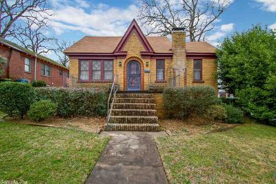 Little Rock Single Family Home New Listing: 332 N Schiller