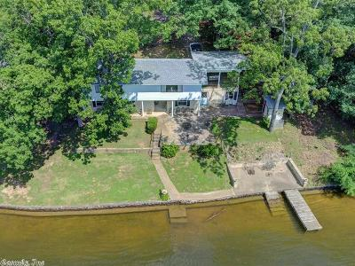 Hot Springs Single Family Home For Sale: 339 Beach Haven