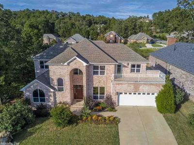 Maumelle Single Family Home Price Change: 6 Crystal Mountain Cove