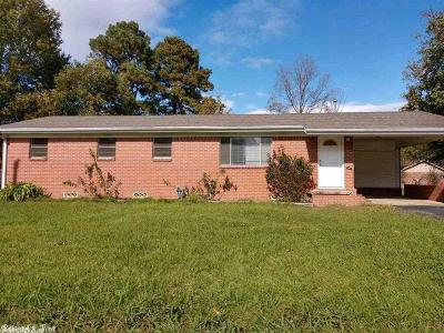 Beebe AR Single Family Home For Sale: $89,000