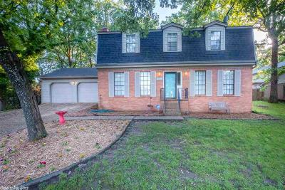 Little Rock Single Family Home For Sale: 2402 Wentwood Valley Drive