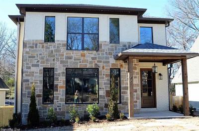 Little Rock Single Family Home New Listing: 1706 N Fillmore Street