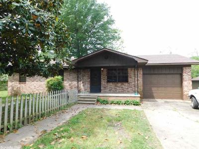 Russellville AR Single Family Home New Listing: $109,000
