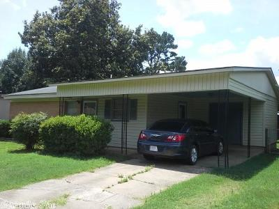Russellville AR Single Family Home New Listing: $76,900