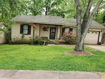 Little Rock Single Family Home New Listing: 52 Point West Circle