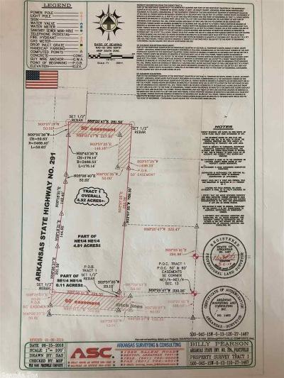 Grant County, Saline County Residential Lots & Land New Listing: 4.92 Highway 291 Tract 1