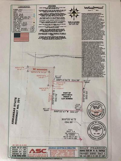 Grant County, Saline County Residential Lots & Land For Sale: 2.21 Highway 291 Tract 3
