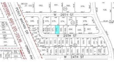 Residential Lots & Land For Sale: 601 W 25th