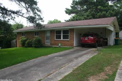 North Little Rock Single Family Home For Sale: 4140 Hillside Drive